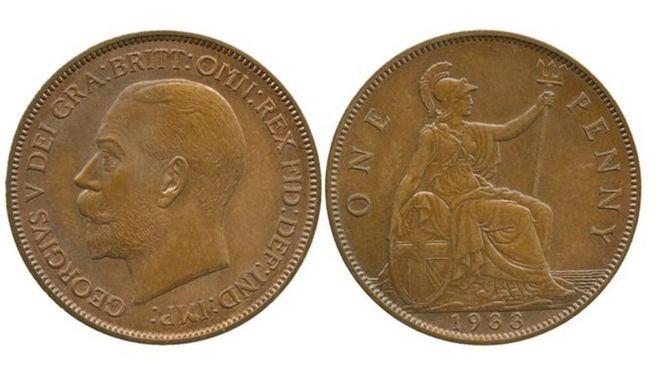 1933 Penny, 1933
