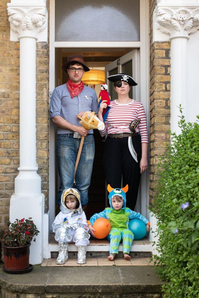 Helen, Matt, Rafe and Arlo