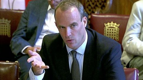 Image score for Brexit Deal Within Our Sights, Says Dominic Raab