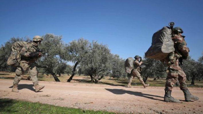 İdlib'de Türk askeri