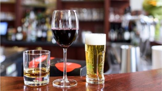 Image result for Reports say light-to-moderate drinking increases blood pressure and the chances of having a stroke.