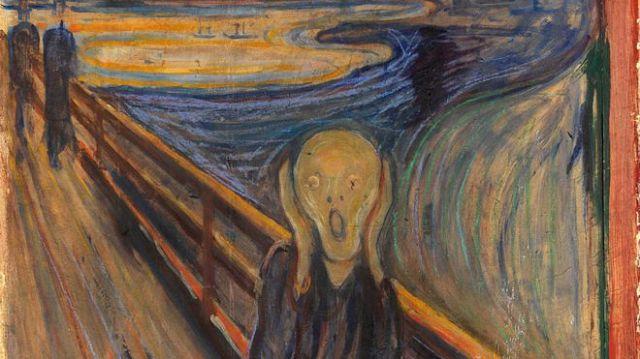 """""""El grito"""" de Edvard Munch"""