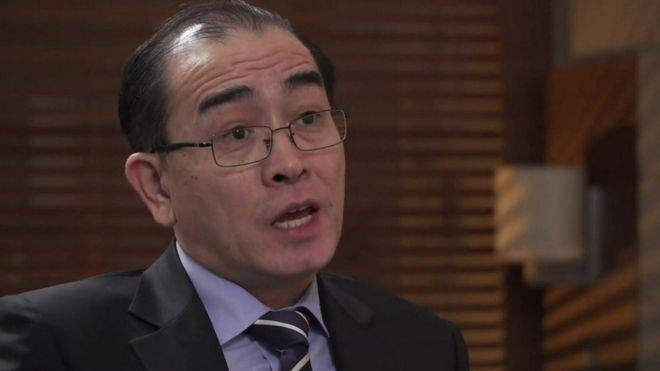Thae Yong-ho nói ông tin Kim Jong-un sẽ dùng vũ khí hạt nhân.