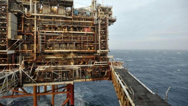 north sea oil and gas