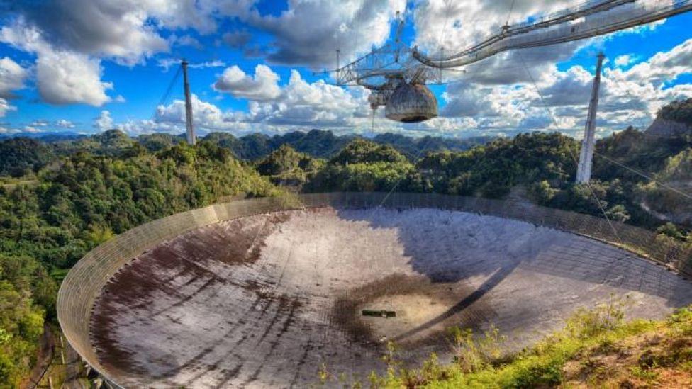 Observatorio Arecibo en Puerto Rico