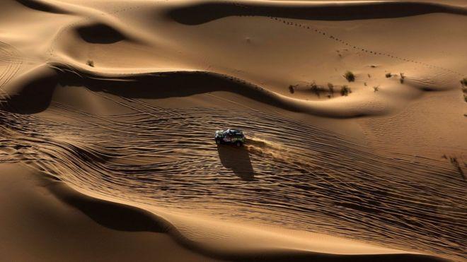El desierto de Gobi se originó por el surgimiento de una cadena montañosa hace 23 millones de años.