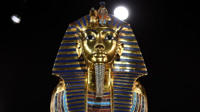 King Tutankhamun's burial mask