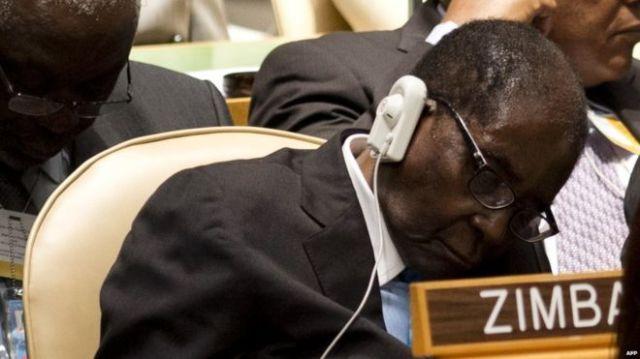 Résultats de recherche d'images pour «Zimbabwe's Mugabe 'Not Sleeping' in Meetings»