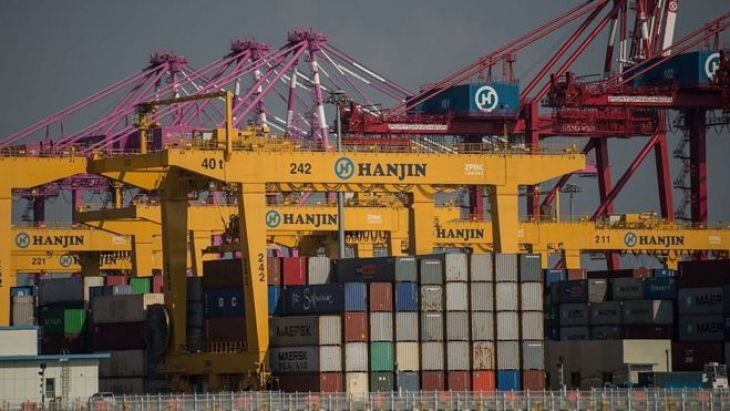 Hanjin Incheon Container Terminal in Seoul