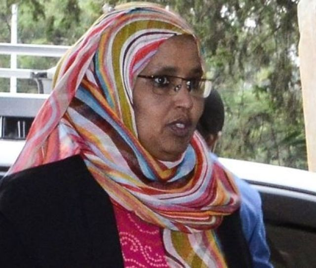 Aisha Mohammed Ethiopias New Defence Minister Arrives In Addis Ababa On