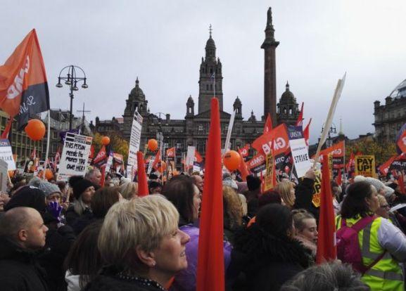 Image result for glasgow women's strike