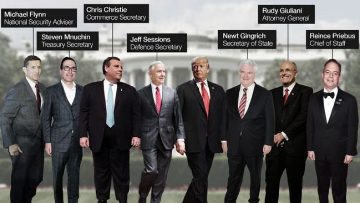 Trump's possible cabinet