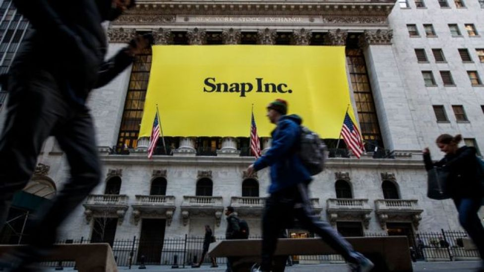 Snapchat borsa logosu