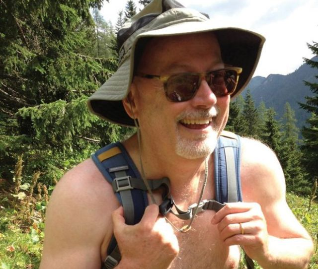 Mark Haskell Smith In The Austrian Alps