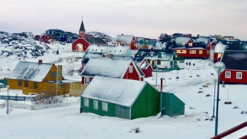 Nuuk, la capital de Groenlandia