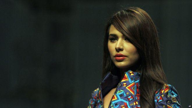 File Photo Model Ayyan Ali On A Catwalk In Karachi Pakistan 10 April
