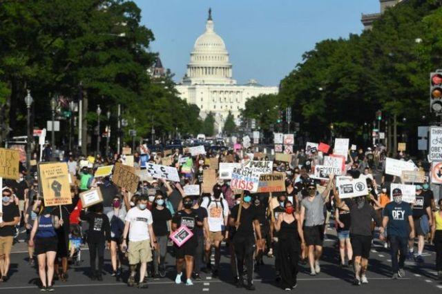 Marcha de Black Lives Matter en Washington D.C.