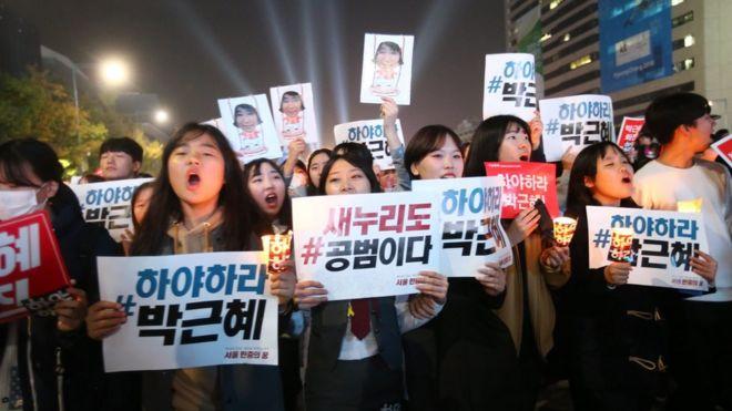 Biểu tình ở Hàn Quốc