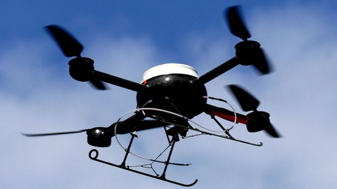 A file image of a quadcopter drone
