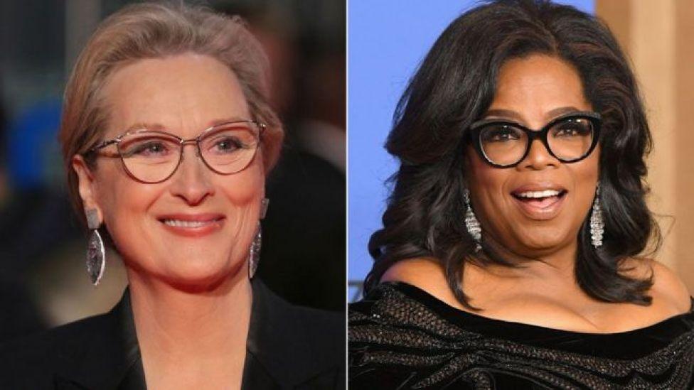 Streep iyo Oprah