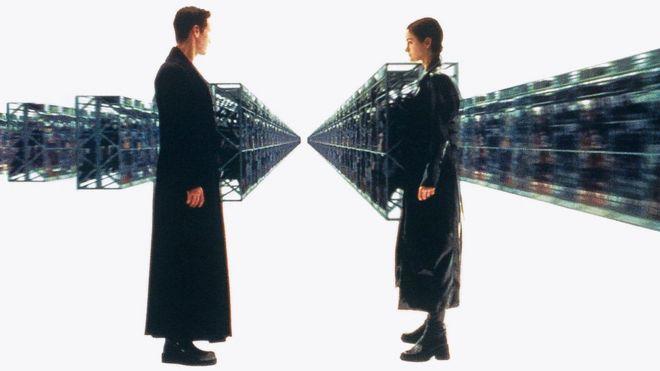 """Escena de """"The Matrix"""""""