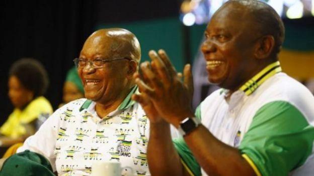 Cyril Ramaphosa waxuu mudo dheer la soo shaqeeyey Jacob Zuma