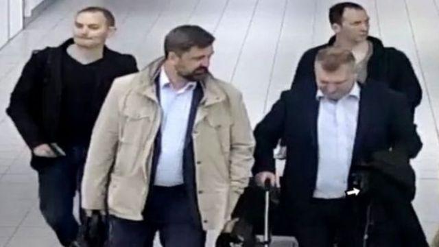 Los cuatro supuestos agentes rusos viajaron a Holanda con pasaportes diplomáticos.
