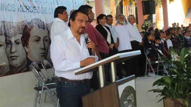 Alcalde Jorge Luis Escandón