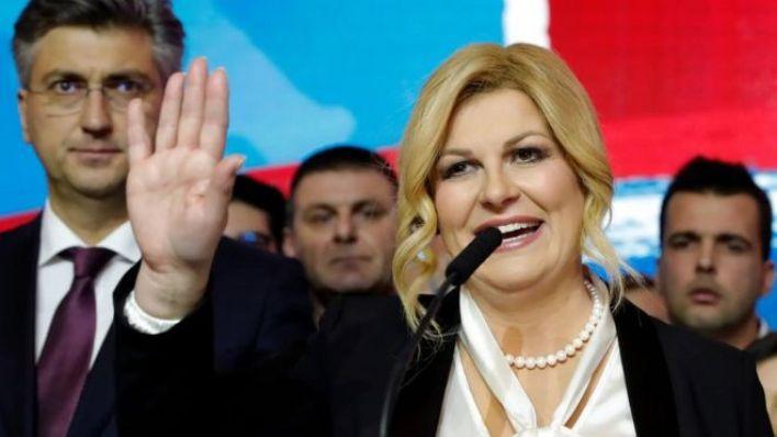 Hırvatistan Cumhurbaşkanı Kolinda Grabar-Kitaroviç