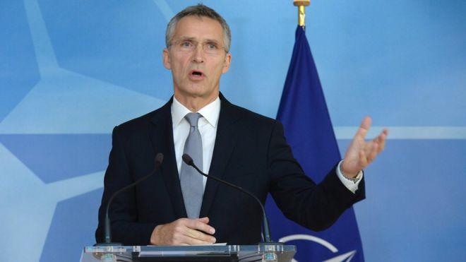 Tổng thư ký Nato Jens Stoltenberg