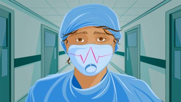 Ilustración de un médico