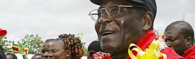 Zimbabwe's leader Robert Mugabe
