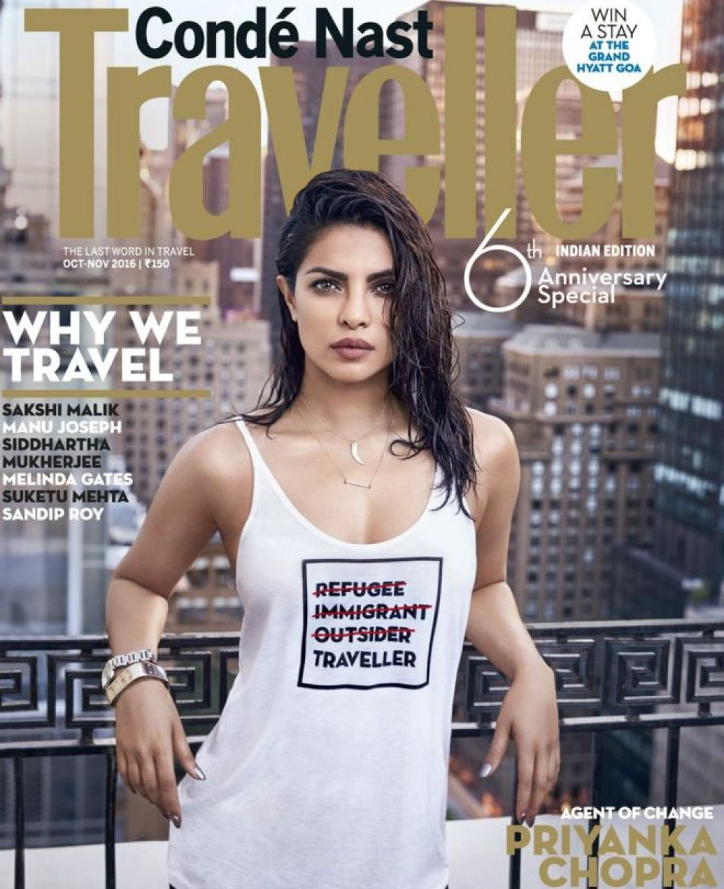 Conde Nast Traveller India cover photo