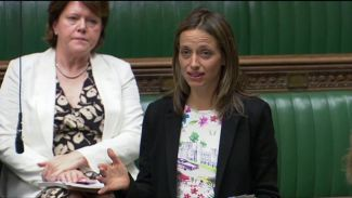 Helen Whately (right)