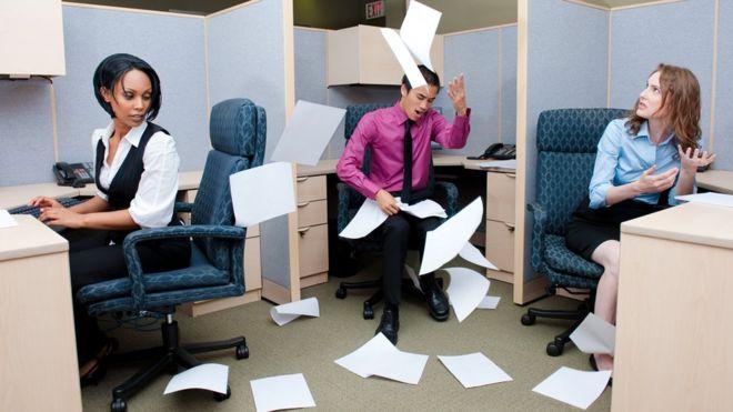 La mayoría de nosotros hemos tenido un colega difícil en el trabajo.