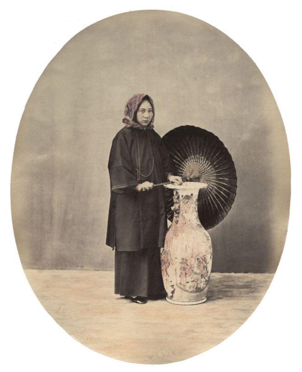 Una joven mujer de Cantón