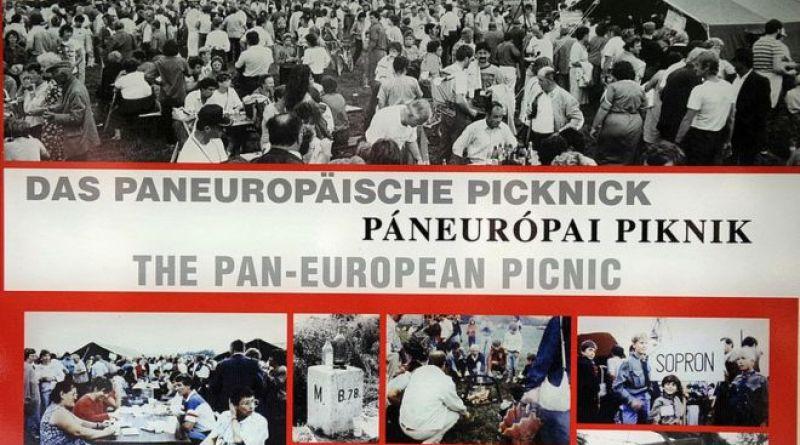 Hungría. 19 de agosto de 1989. El Picnic Paneuropeo, con lo que empezó la caída del Muro de Berlín y de la Cortina de Hierro