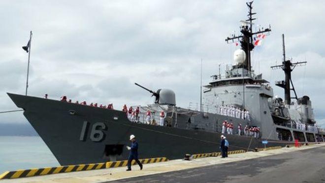 Tàu BRP Ramon Alcaraz cập Cảng Quốc tế Cam Ranh ngày 5/12