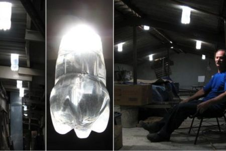 Alfredo Moser  Bottle light inventor proud to be poor   BBC News Alfredo in his workshop