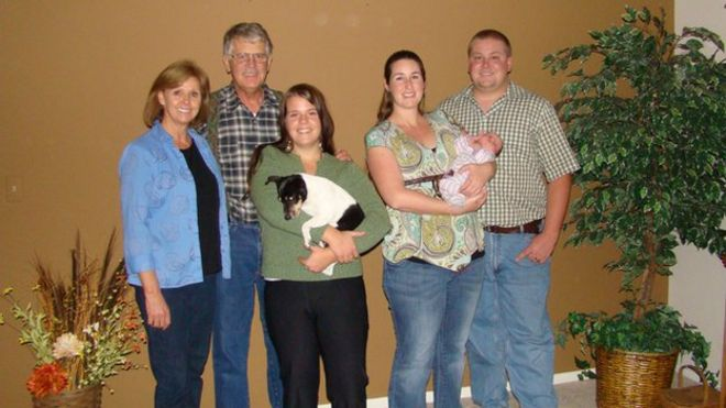 Kayla Mueller and her family