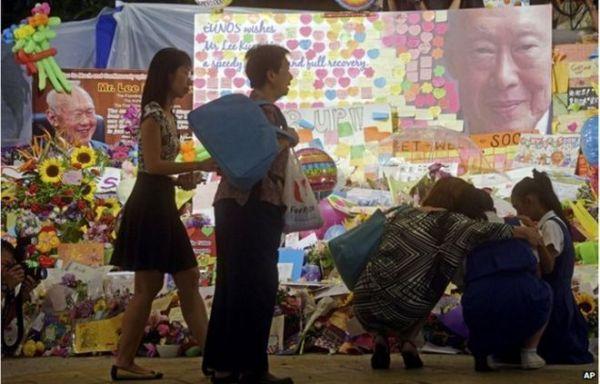 Death of Lee Kuan Yew