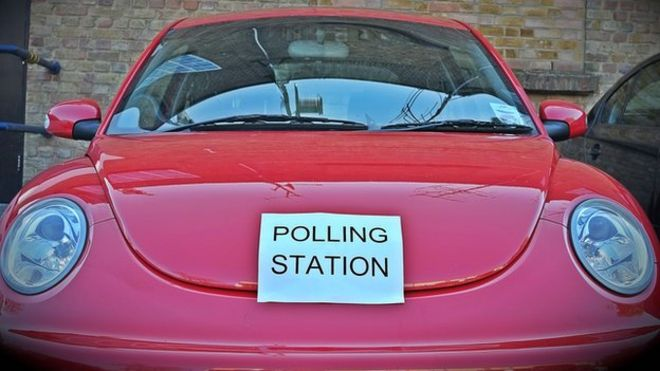 Car polling station