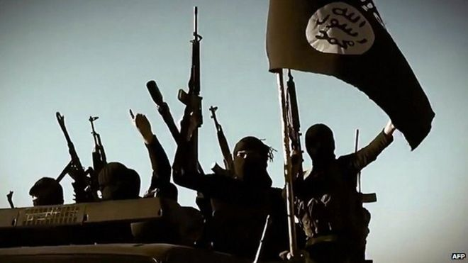 Islamic State militants in 2014