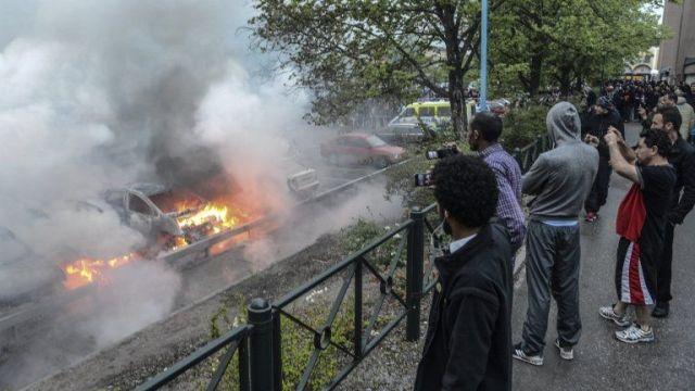 Αποτέλεσμα εικόνας για FLAMES IN 3 SWEDISH CITIES