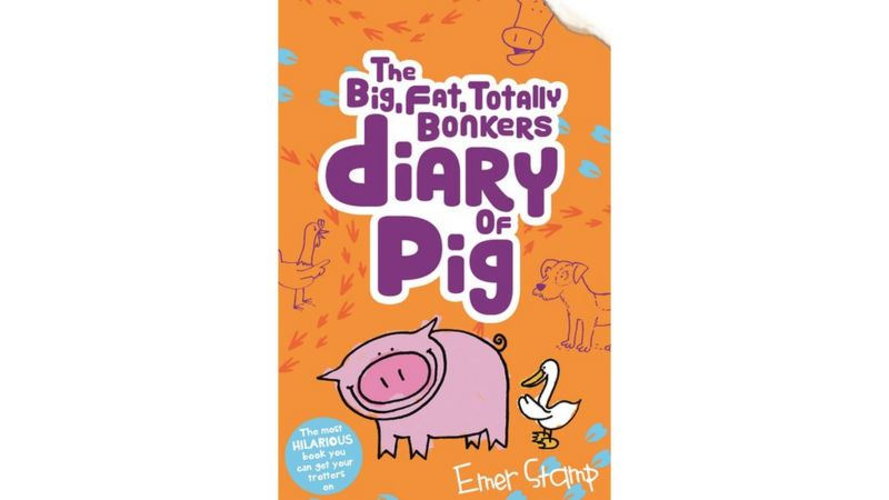 The Big, Fat, Totally Bonkers Diary of Pig book cover
