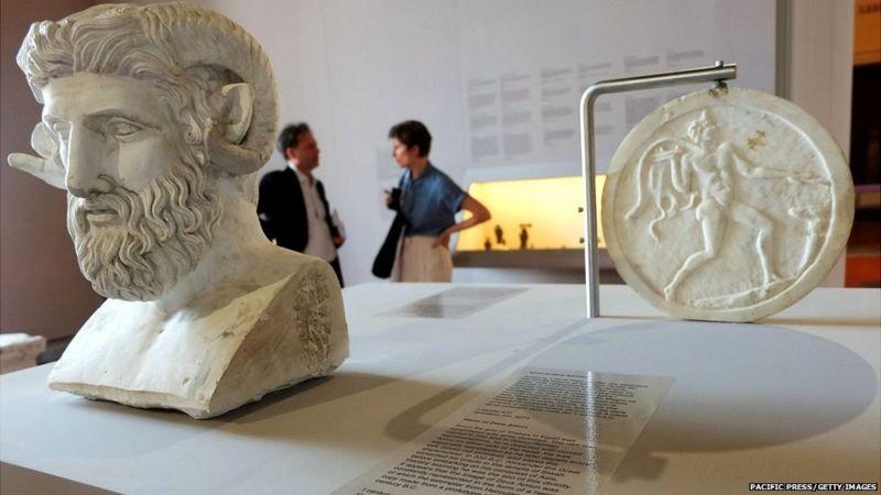 Museo arqueológico de Nápoles.