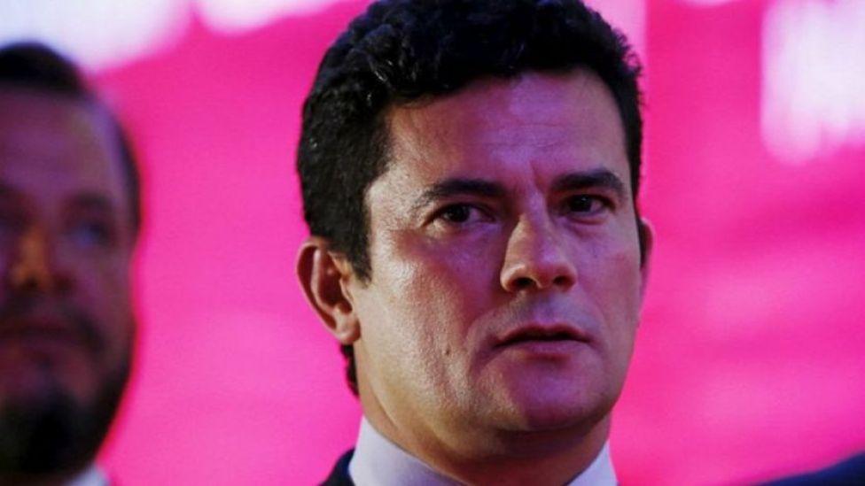 Sergio Moro de frente