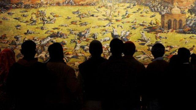 জালিয়ানওয়ালা বাগের হত্যাকাণ্ডের ছবি