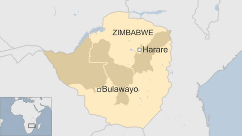 Zimbabwe drought showing worst affected provinces