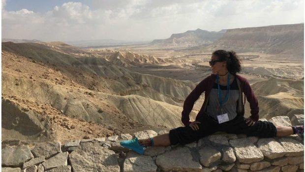 Eliana in Hebron